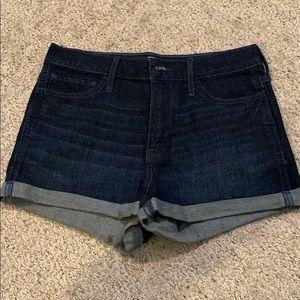 Hollister high-rise jean shorts